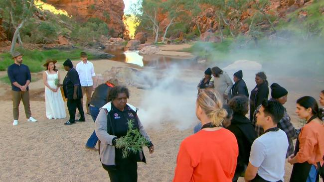 """""""Welcome to Country"""" smoking ceremony performed for MasterChef Australia"""